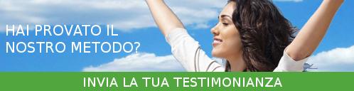 Invia la tua testimonianza